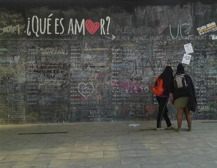 Centro Cultural Gabriela Mistral. 2014. Foto: Agustina Ordoqui