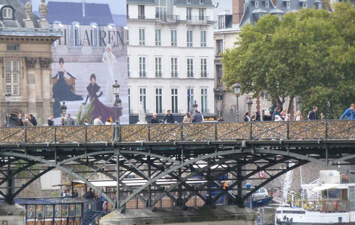 Pont des arts. 2013. Foto: Agustina Ordoqui