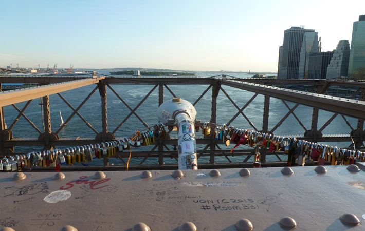 Puente de Brooklyn. 2015. Foto: Agustina Ordoqui