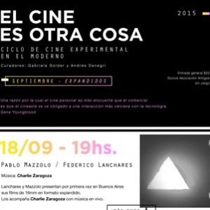 Ciclo de cine experimental en el MAMBA