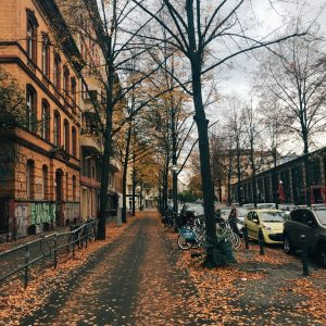Berlines ocres, naranjas, bermellones